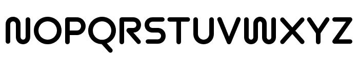 Omnium Wide Bold Font UPPERCASE