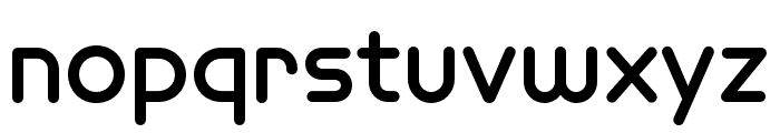 Omnium Wide Bold Font LOWERCASE