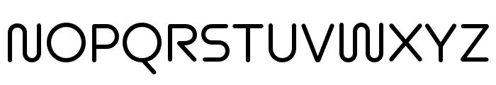 Omnium Wide Medium Font UPPERCASE