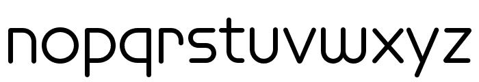 Omnium Wide Medium Font LOWERCASE