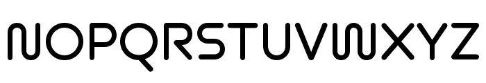 Omnium Wide SemiBold Font UPPERCASE