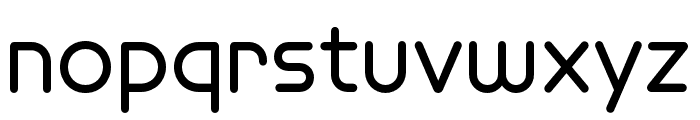Omnium Wide SemiBold Font LOWERCASE