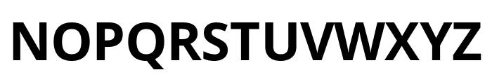 Open Sans Condensed Bold Font UPPERCASE