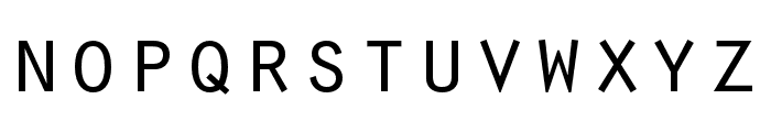 Orator Std Medium Font LOWERCASE