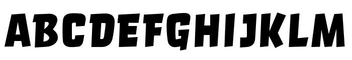 Orgovan Brush Font UPPERCASE