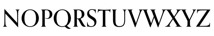 Orpheus Pro Medium Font UPPERCASE