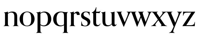 Orpheus Pro Medium Font LOWERCASE