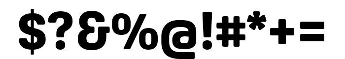 Oscine XBold Font OTHER CHARS