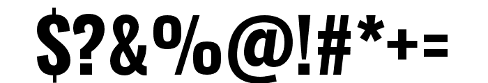 Oswald Bold Font OTHER CHARS