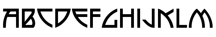 P22 Arts and Crafts Regular Font LOWERCASE