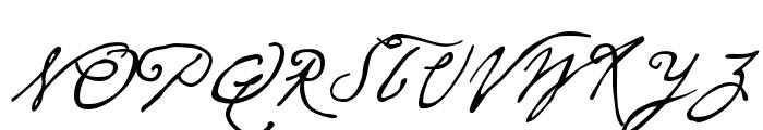 P22 Cezanne Pro Regular Font UPPERCASE