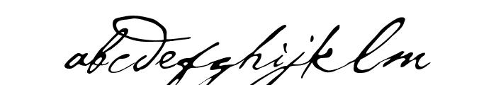 P22 Cezanne Pro Regular Font LOWERCASE