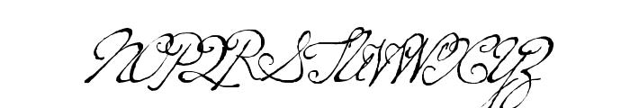 P22 Dearest Pro Regular Font UPPERCASE