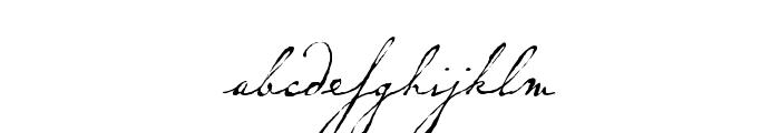 P22 Dearest Pro Regular Font LOWERCASE