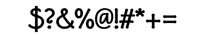 P22 Eaglefeather Informal Bold Font OTHER CHARS