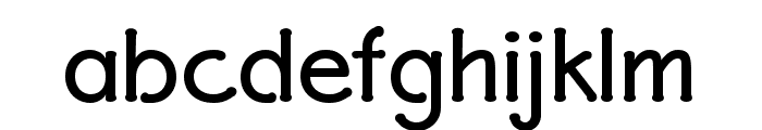 P22 Eaglefeather Informal Bold Font LOWERCASE