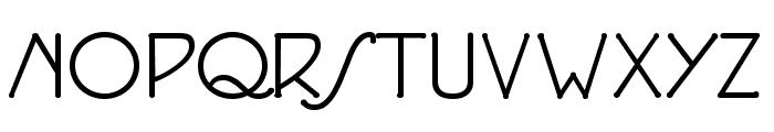 P22 Eaglefeather Informal Font UPPERCASE