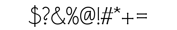 P22 Eaglefeather Pro Informal Light Font OTHER CHARS