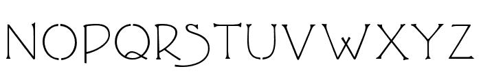 P22 FLW Terracotta Alt Font UPPERCASE