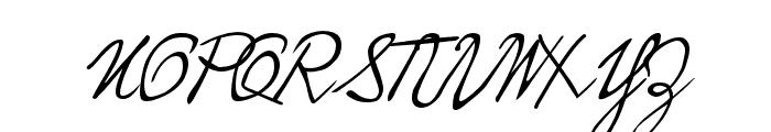 P22 Hopper Edward Font UPPERCASE
