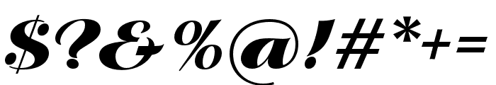 P22 Klauss Kursiv Regular Font OTHER CHARS