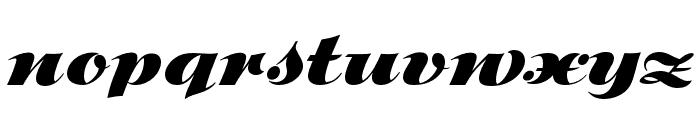 P22 Klauss Kursiv Regular Font LOWERCASE