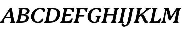 P22 Mackinac Pro Bold Italic Font UPPERCASE