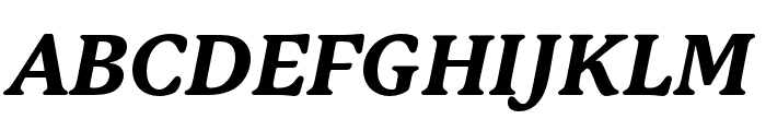 P22 Mackinac Pro Extra Bold Italic Font UPPERCASE