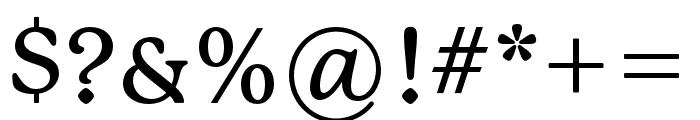 P22 Mackinac Pro Medium Font OTHER CHARS