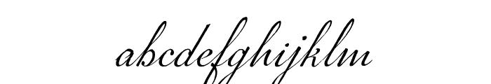 P22 Marcel Script Pro Font LOWERCASE
