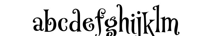 P22 Muschamp Pro Regular Font LOWERCASE