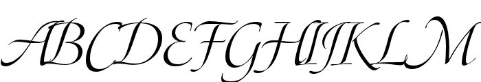P22 Pouty Pro Regular Font UPPERCASE