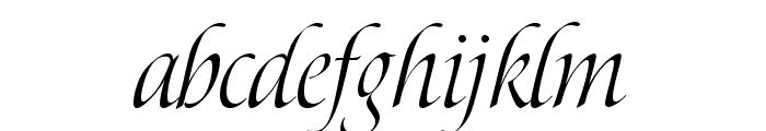 P22 Pouty Pro Regular Font LOWERCASE