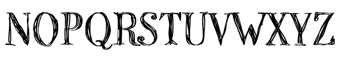 P22 Stanyan Regular Font UPPERCASE