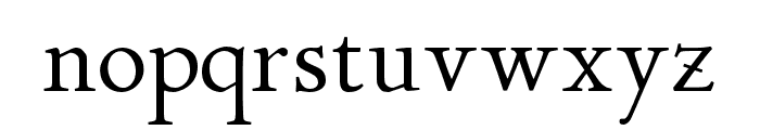 P22 Stickley Pro Display Font LOWERCASE