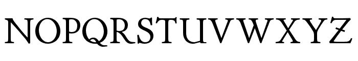 P22 Stickley Pro Headline Font UPPERCASE