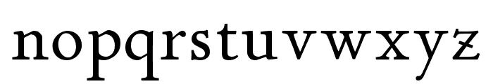 P22 Stickley Pro Headline Font LOWERCASE