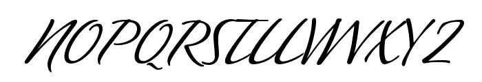 P22 Sweepy Pro Regular Font UPPERCASE