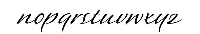 P22 Sweepy Pro Regular Font LOWERCASE