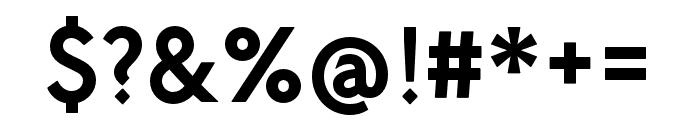 P22 Underground DemiBold Font OTHER CHARS