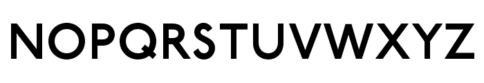 P22 Underground DemiBold Font UPPERCASE
