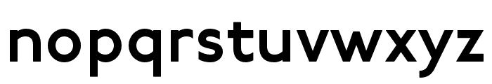 P22 Underground DemiBold Font LOWERCASE