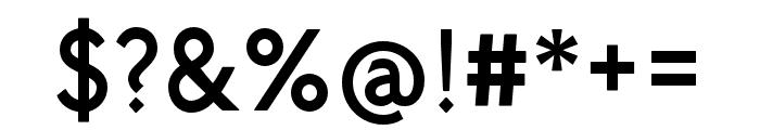 P22 Underground Medium Petite Caps Font OTHER CHARS