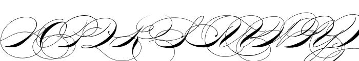 P22 Zaner Pro Four Font UPPERCASE