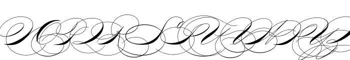 P22 Zaner Pro One Font UPPERCASE