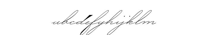 P22 Zaner Pro One Font LOWERCASE