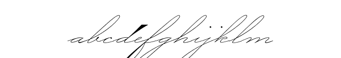 P22 Zaner Pro Two Font LOWERCASE