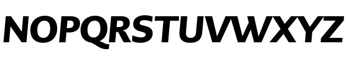 PMNCaeciliaSans Head Blk Italic Font UPPERCASE