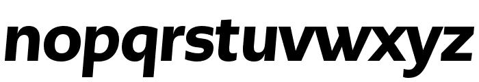 PMNCaeciliaSans Head Blk Italic Font LOWERCASE
