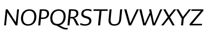 PMNCaeciliaSans Head Obl Font UPPERCASE